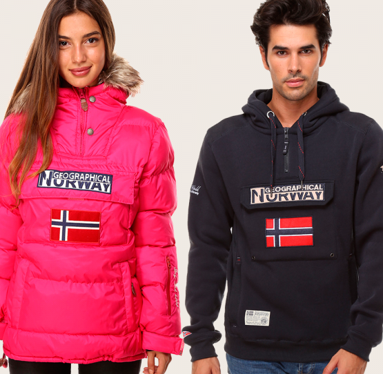 Chaquetas norway mujer outlet
