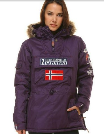 3bfbb8a36473b Chaqueta Norway chica - Geographical Norway España ®