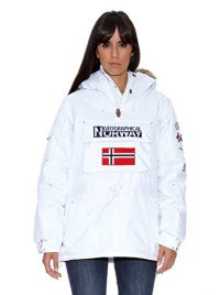 Anorak Geographical Norway mujer